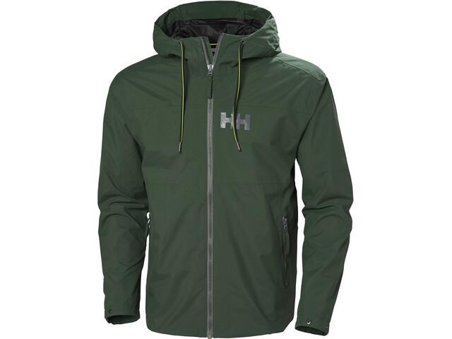 Helly Hansen Rigging Rain Jacket Herr jungle green